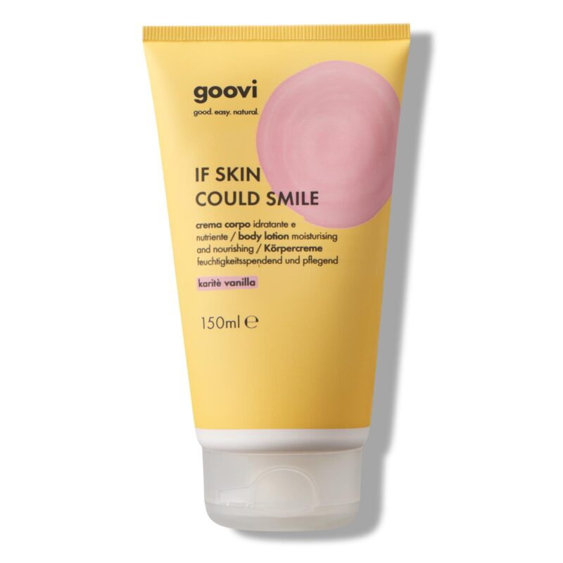 if skin could smile
